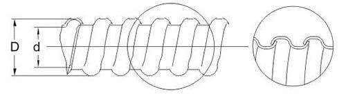 US flexible electrical conduit structure