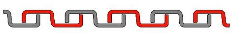 GI Flexible Conduit Pipe Structure