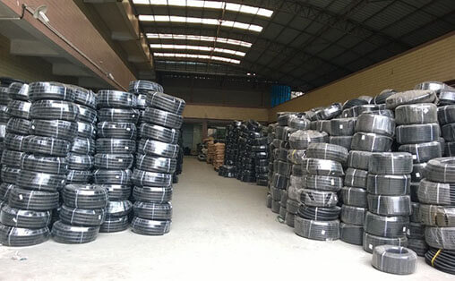 Corrugated Tubes Warehouse