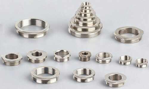 circle and hexagon cable gland reducer