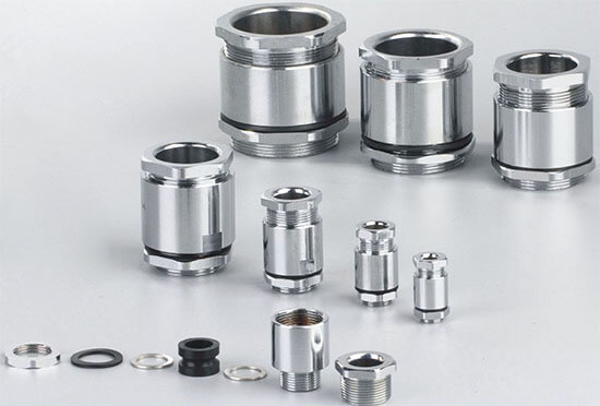 TJ clamping type marine cable gland show
