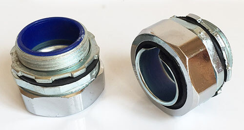flexible metal conduit connectors(zinic alloy)
