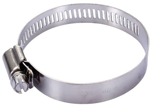 stainless steel hose clamps details