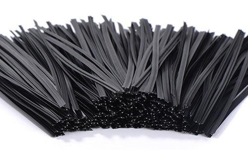 plastic coated twist ties details