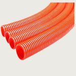 Orange Corrugated Flexible Conduit