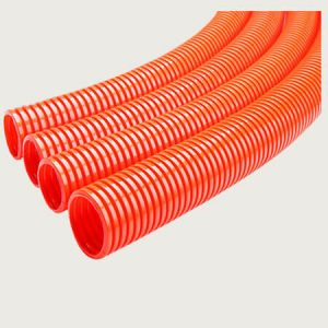 Orange Flexible Conduit