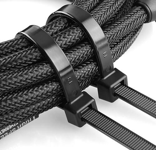 heavy duty zip ties usage
