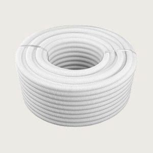 White Flexible Conduit
